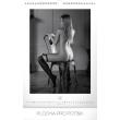 Nástěnný kalendář Girls Black & White – Martin Šebesta 2019, 33 x 46 cm