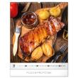 Nástěnný kalendář Gourmet 2020, 48 × 56 cm