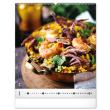 Nástěnný kalendář Gourmet 2022, 48 × 56 cm