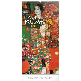 Nástěnný kalendář Gustav Klimt 2019, 33 x 64 cm