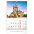 Nástěnný kalendář Historické miesta Slovenska 2020, 33 × 46 cm