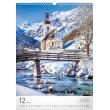 Nástěnný kalendář Hory 2018, 33 x 46 cm
