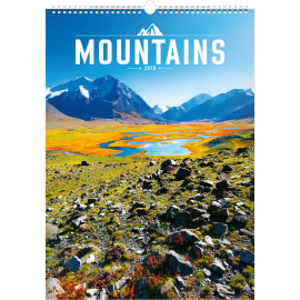 Wall calendar Mountains 2018, 33 x 46 cm