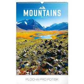 Wall calendar Mountains 2018, 33 x 46 cm