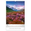 Nástěnný kalendář Hory 2020, 33 × 46 cm