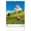 Nástěnný kalendář Hory 2021, 33 × 46 cm