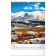 Nástěnný kalendář Hory 2022, 33 × 46 cm
