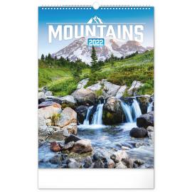 Wall calendar Mountains 2022, 33 × 46 cm
