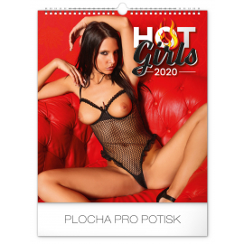 Wall calendar Hot Girls 2020, 30 × 34 cm