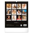 Nástěnný kalendář Hot Girls 2022, 30 × 34 cm