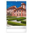 Nástěnný kalendář Hrady a zámky 2021, 33 × 46 cm