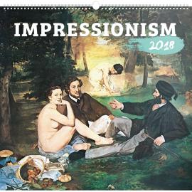 Wall calendar Impressionism 2018, 48 x 46 cm