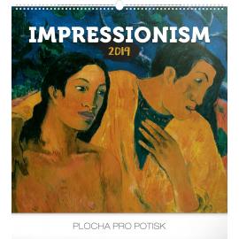 Wall calendar Impressionism 2019, 48 x 46 cm
