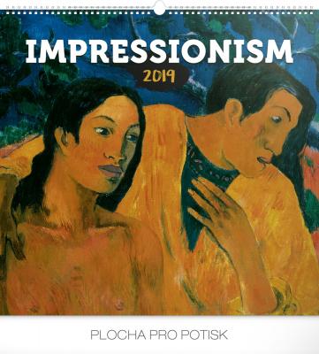 Nástěnný kalendář Impresionismus 2019, 48 x 46 cm