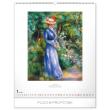 Nástěnný kalendář Impresionismus 2020, 48 × 56 cm