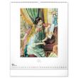 Nástěnný kalendář Impresionismus 2021, 48 × 56 cm