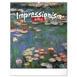 Wall calendar Impressionism 2022, 48 × 56 cm