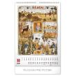 Nástěnný kalendář Josef Lada – Měsíce 2020, 33 × 46 cm