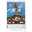 Nástěnný kalendář Josef Lada – Pohádky 2019, 33 x 46 cm