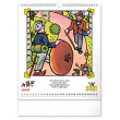 Nástěnný kalendář Josef Lada – Říkadla 2021, 30 × 34 cm
