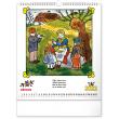Nástěnný kalendář Josef Lada – Říkadla 2022, 30 × 34 cm