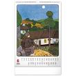 Nástěnný kalendář Josef Lada – Rok na vsi 2022, 33 × 46 cm