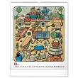 Nástěnný kalendář Josef Lada – Zvířátka 2021, 48 × 56 cm