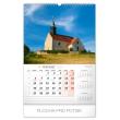 Wall calendar Chapels and churches 2020, 33 × 46 cm