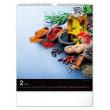 Nástěnný kalendář Koření a bylinky 2021, 30 × 34 cm