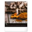 Nástěnný kalendář Koření a bylinky 2022, 30 × 34 cm