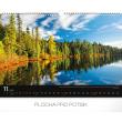 Nástěnný kalendář Krajiny 2019, 48 x 33 cm