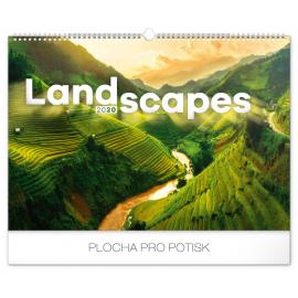Wall calendar Landscapes 2020, 48 × 33 cm