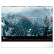 Nástěnný kalendář Krajiny 2021, 48 × 33 cm