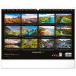 Nástěnný kalendář Krajiny 2022, 48 × 33 cm