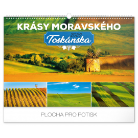 Wall calendar Beauty of Moravian Tuscany 2020, 48 × 33 cm