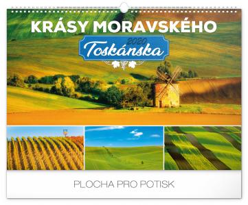 Nástěnný kalendář Krásy Moravského Toskánska 2020, 48 × 33 cm