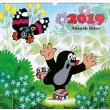 Nástěnný kalendář Krteček 2019, 48 x 46 cm