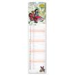 Nástěnný kalendář Krteček 2021, 12 × 48 cm