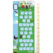 Nástěnný kalendář Krteček GB, měřicí, 33 x 64 cm