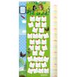 Nástěnný kalendář Krteček GB, měřicí, 33 × 64 cm