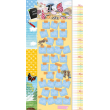 Nástěnný kalendář Krteček, měřící, 33 x 64 cm