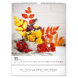 Wall calendar Flowers 2020, 30 × 34 cm
