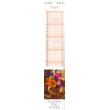 Nástěnný kalendář Květiny – Kvety 2018, 10,5 x 48 cm