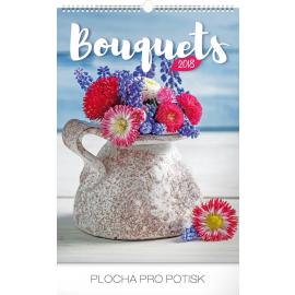 Wall calendar Bouquets 2018, 33 x 46 cm
