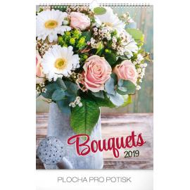 Wall calendar Bouquets 2019, 33 x 46 cm