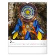 Nástěnný kalendář Lapač snů 2022, 30 × 34 cm