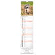 Nástěnný kalendář Lesní zvěř – Lesná zver 2020, 12 × 48 cm
