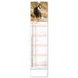 Nástěnný kalendář Lesní zvěř – Lesná zver 2022, 12 × 48 cm
