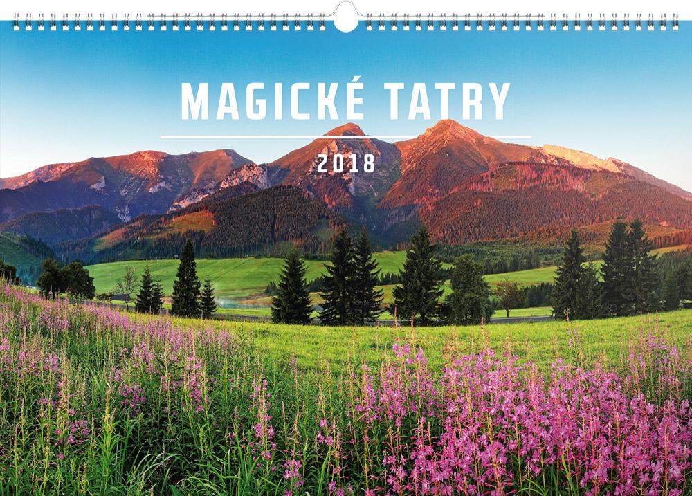 nastenny kalendar Nástěnný kalendář Magické Tatry 2018, 48 x 33 cm | PRESCO.CZ nastenny kalendar