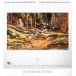 Nástěnný kalendář Mařákovci 2019, 48 x 46 cm